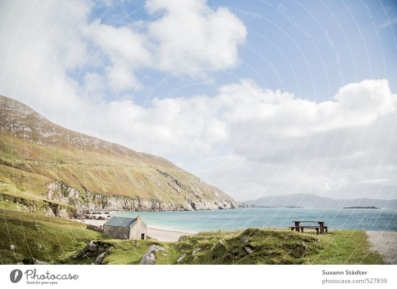 little paradise Vacation & Travel Far-off places Freedom Summer Beautiful weather Coast Beach Bay Calm Wanderlust Ireland Achill Island Paradisical Gorgeous