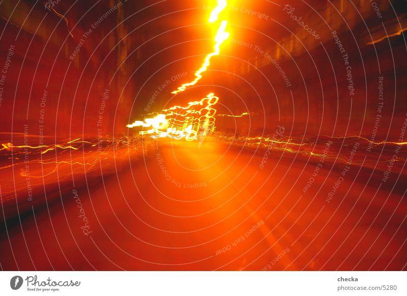 amberstreet Long exposure Speed Light Street