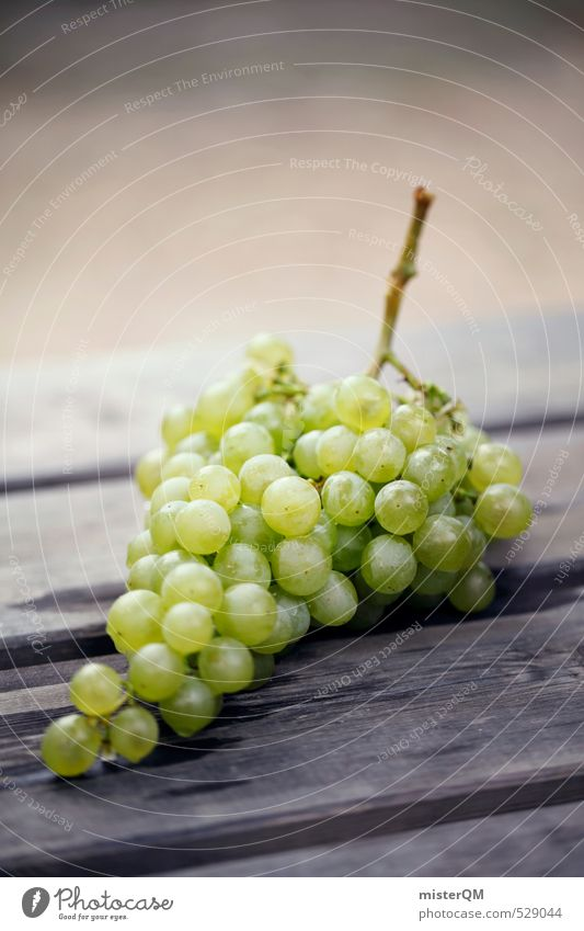 French Style XXXIV Art Esthetic Contentment Vine Bunch of grapes Grape harvest Winery Delicious Many Healthy Vitamin Healthy Eating Colour photo Subdued colour