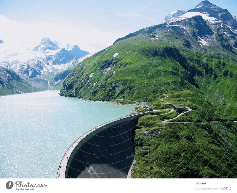 Water Sun Vacation & Travel Relaxation Mountain Freedom Lake Landscape Hiking Large Tall Europe Action Level Alps Peak