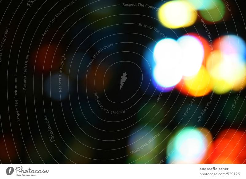 Dance of the light points. Art Emotions Night life Multicoloured Church window Contrast Point of light Red Blue Yellow Green Circle Dream Experimental Deserted
