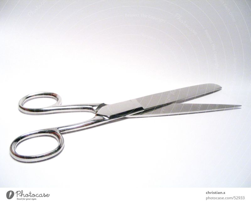 Snip, snip... Tool Craft (trade) Art Arts and crafts  whitebackground cutter Scissors Bright background Metal