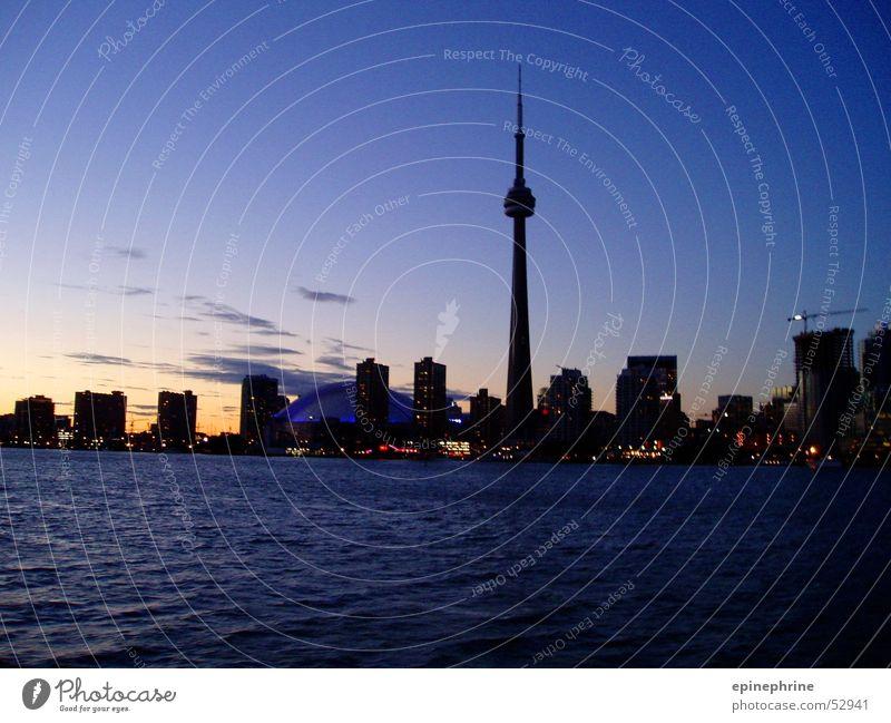 toronto skyline Toronto Sunset Town Skyline