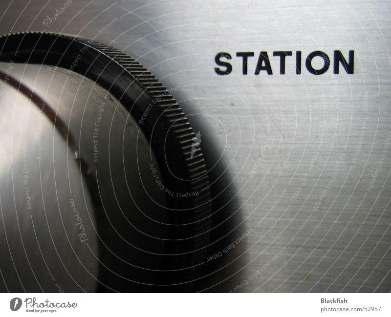 Old Music Round Station Statue Rotate Radio (broadcasting) Silver Sound Buttons Loud Broacaster WDR