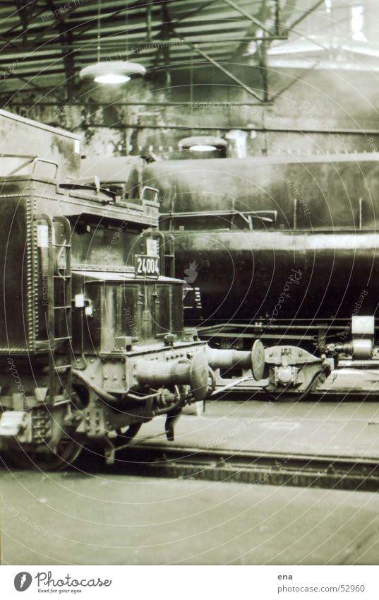 Power Wait Speed Railroad Industry Technology Historic Railroad tracks Deep Machinery Train station Parking Warehouse Iron Nostalgia Mystic