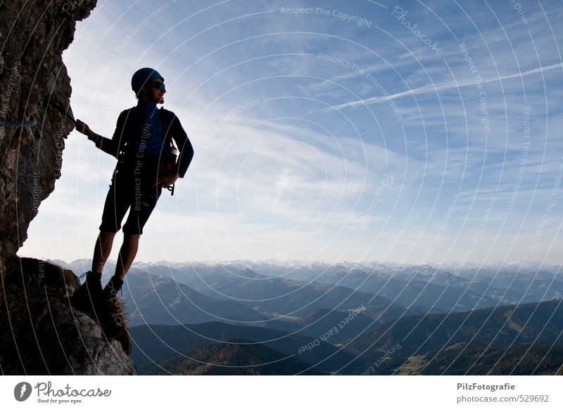 Steiner Irg Junior Adventure Mountain Sports Climbing Mountaineering via ferrata Masculine Young man Youth (Young adults) 1 Human being 18 - 30 years Adults