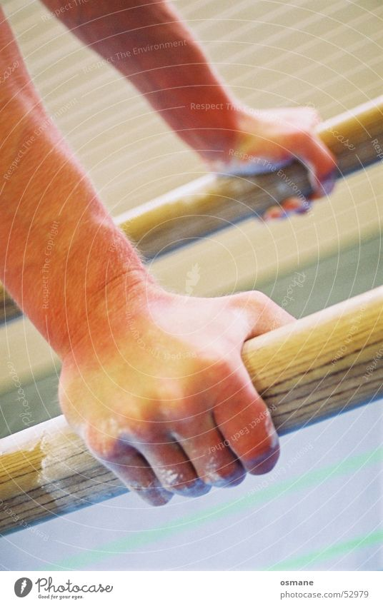 Hand Sports Wood Power Skin Arm Fingers Catch Door handle Gymnastics Rod Lift Fist Handstand