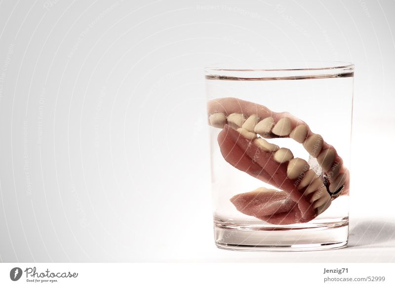 Nutrition Glass Teeth Dentist Bite Dentistry Tumbler Third Prothesis Dental implant Dental technology Dental technician