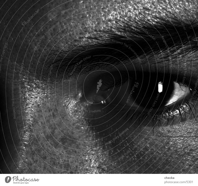 view Earnest Man Eyes Black & white photo Looking haunting