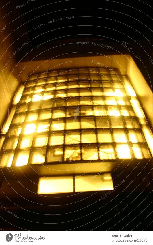 squares ´n light Light Long exposure Oldenburg Bench coal Administration