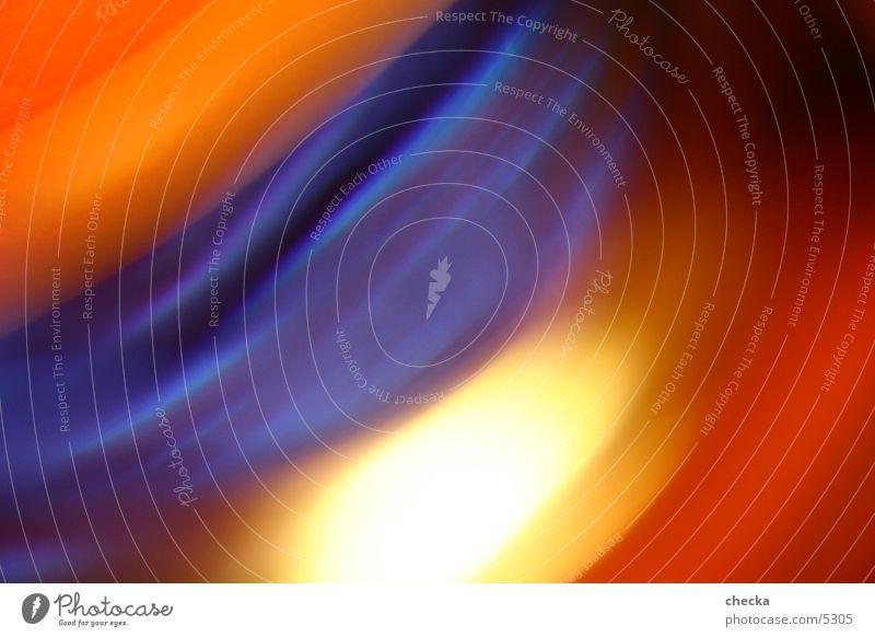 Blue Colour Orange Waves Background picture Photographic technology