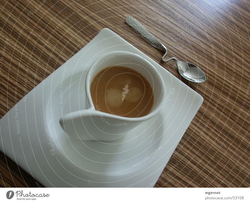 Wood Design Table Coffee Stripe Café Cup Espresso Spoon Curved Tropic trees Cutlery Villeroy