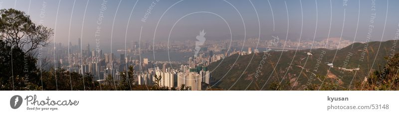 Sky City Large Asia China Panorama (Format) Hongkong