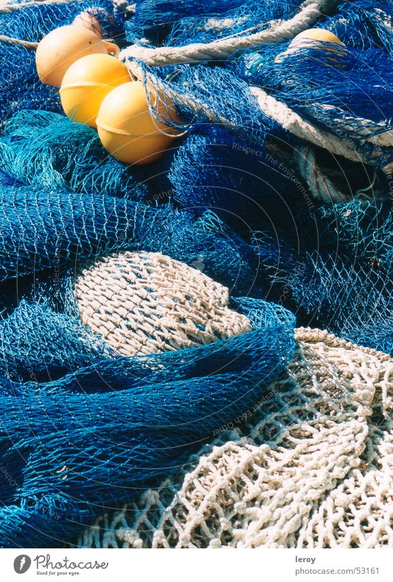 Ocean Blue Yellow Work and employment Freedom Net Majorca Fishery Fishing net