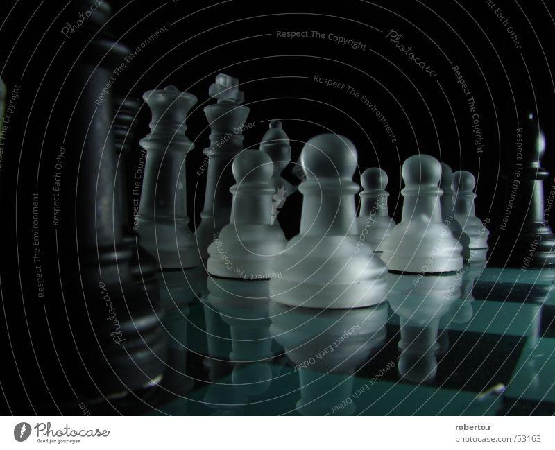 White Black King Chessboard
