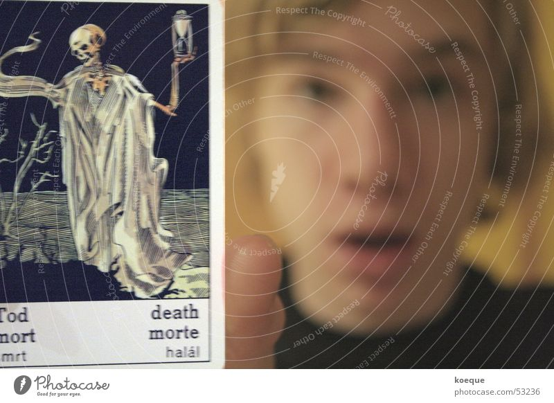 Death Facial expression Horror Shock Horoscope Tarot