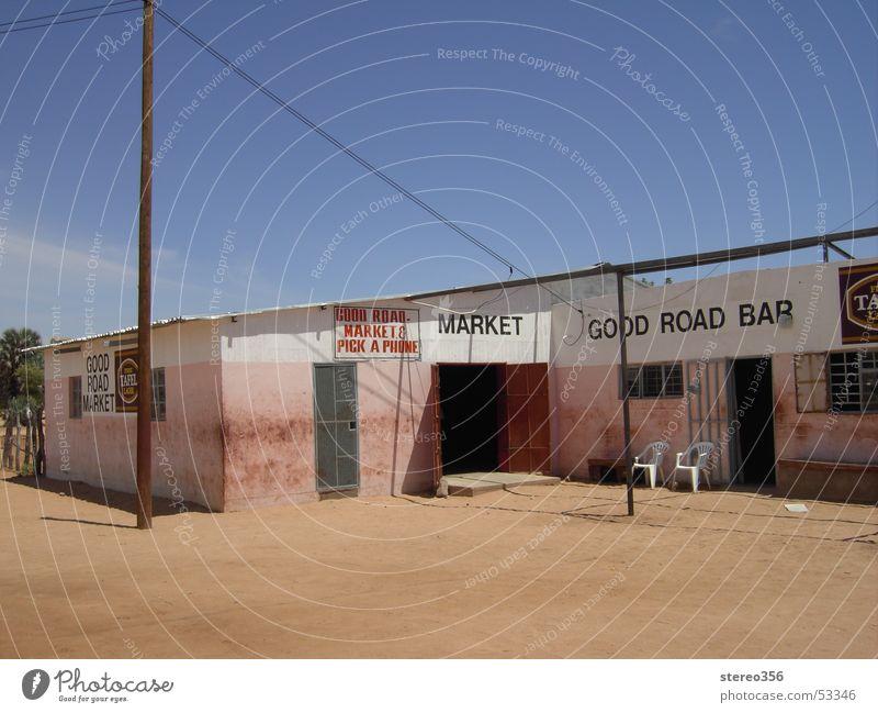 Good Road Bar Africa Namibia Barn Sand