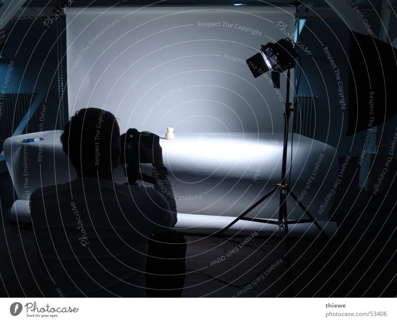 Human being White Black Lamp Dark Work and employment Photography Art Camera Profession Things Concentrate Photographer Arts and crafts