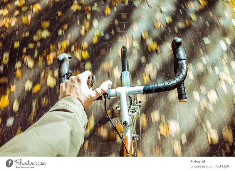 Radfahren. Human being Sports Rain Climate To enjoy Fitness Cycling Sports Training