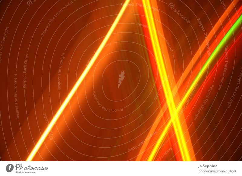 Crossing Light Lines Style Design Esthetic Brown Yellow Red Colour Innovative Inspiration Creativity Crossed Direct Transparent Translucent Visual spectacle