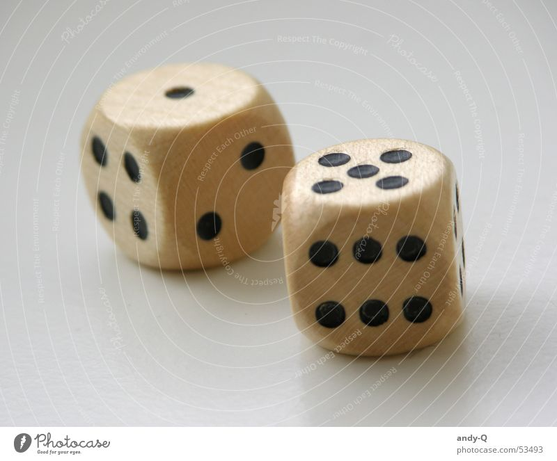 dice Rotate Digits and numbers 5 1 Lose Disaster Playing Coincidence Wood Fate Interior shot To fall Coil Throw Happy gambling Macro (Extreme close-up)