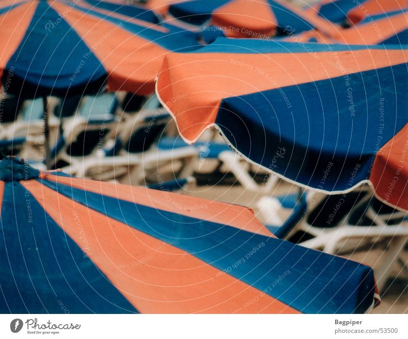 Umbrellas.... Vacation & Travel Perspective Colour Looking