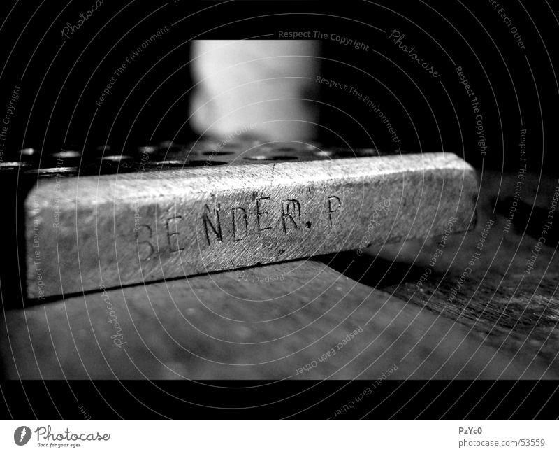 steelwork Steel Iron Craft (trade) Work and employment Macro (Extreme close-up) Black White Handcrafts Industrial Photography Work of art