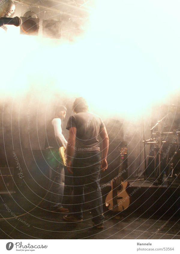 Man Music 2 Fog Break String Rock music Guitar Stage Arrange Drum set Voice