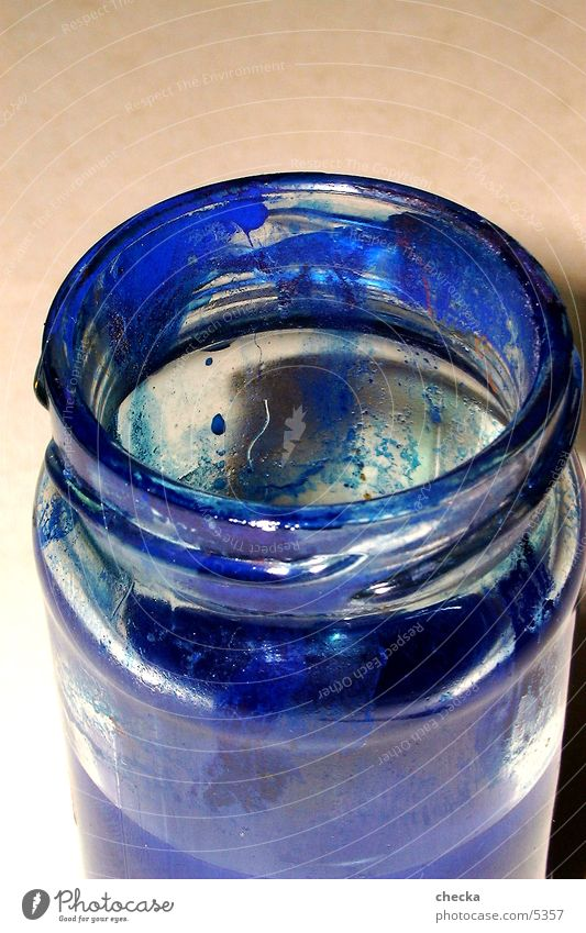 coloured glass Things Blue Colour Glass
