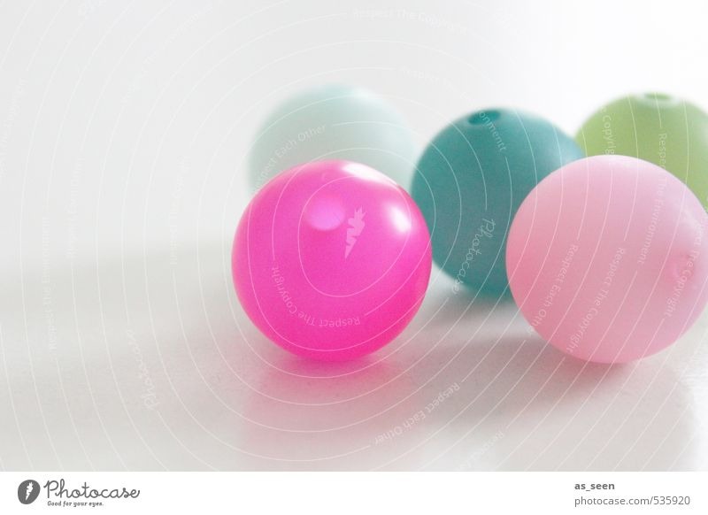 Green Colour Calm Feminine Movement Gray Bright Group Lie Pink Elegant Design Glass Decoration Esthetic Touch