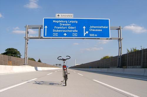Berlin Bicycle Transport Highway Signs and labeling Traffic lane Street sign Lane markings