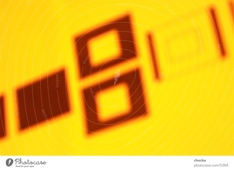 bauhaus style Yellow Photographic technology Orange Illustration
