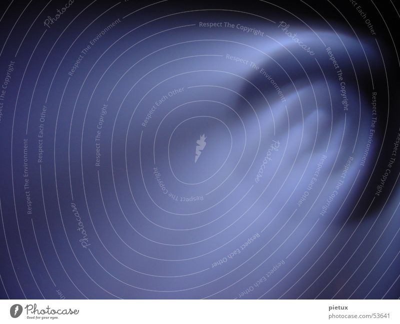 Sky Blue Black Dark Fog Circle Round Things To fall Violet Smoke Club Moon Planet Floodlight Stage lighting