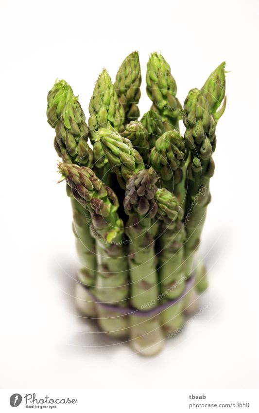 green asparagus in bunch Vitamin Green Healthy Dehydrate Asparagus head Molt Cooking To enjoy Vegetable Macro (Extreme close-up) Close-up Spring Bundle