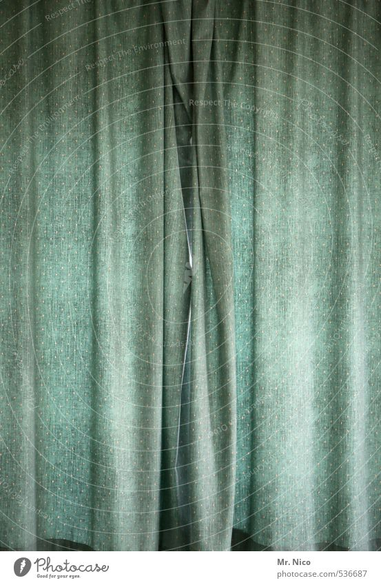 Tristesse obscure Lifestyle Flat (apartment) Interior design Window Hang Drape Observe Calm Gloomy Private sphere Abstract Closed Intimacy Curtain Cloth