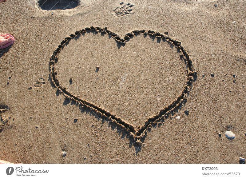 Heart in the sand Ocean Turkey Love Sand Water