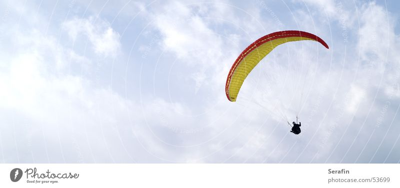 simply unbound Paraglider Paragliding Air Flying sports Freestyle Sky Clouds Sports