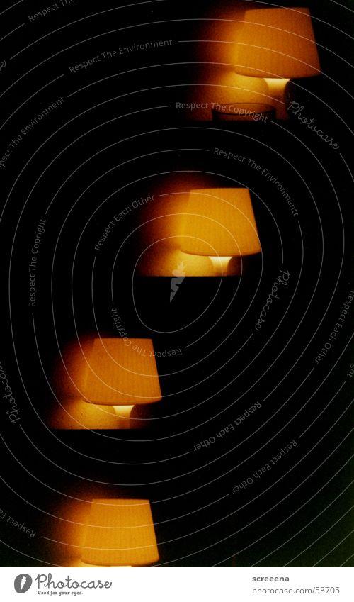 Black Yellow Lamp Dark Warmth Orange Physics