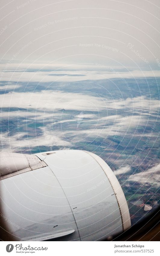 Sky Landscape Clouds Far-off places Autumn Horizon Earth Air Flying Weather Rain Fog Gloomy Aviation Airplane Fear of heights