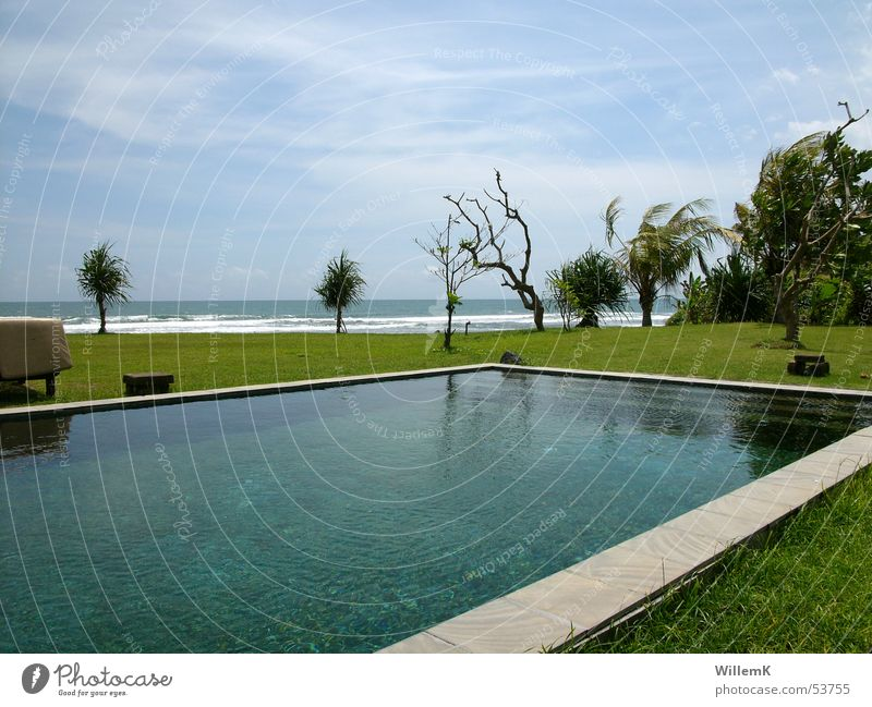Water Sky Ocean Vacation & Travel Meadow Waves Swimming pool Vantage point Bali Indonesia