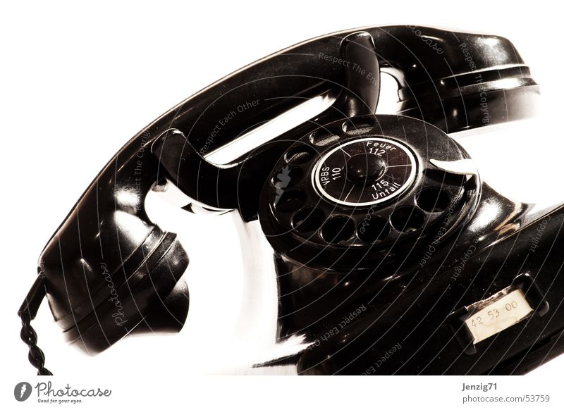 Call me. Telephone Connection Dial tone Fill Telephone connection Retro Ancient The fifties Rotary dial talk call Audience answering machines