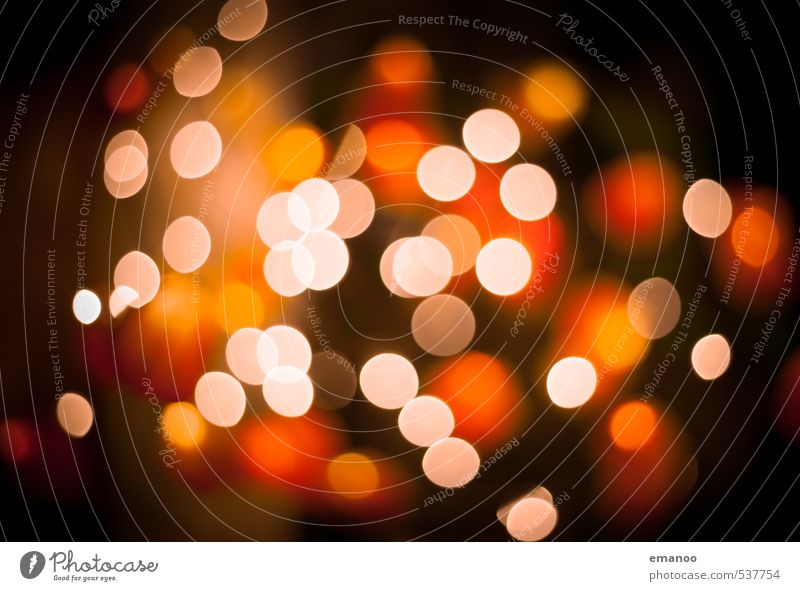 bokeh balls Style Design Candle Kitsch Odds and ends Sign Sphere Illuminate Bright Beautiful Round Yellow Orange Esthetic Chaos Energy Blur Lamp Lighting
