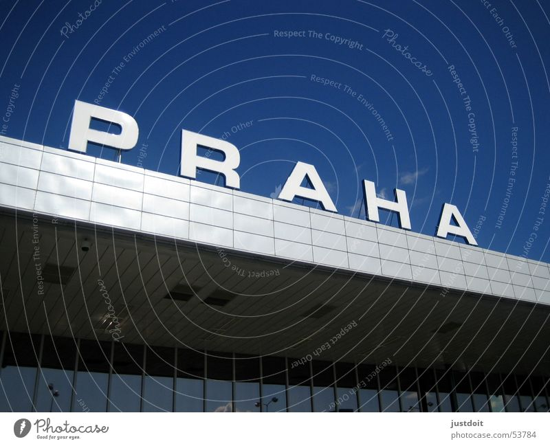 Sky Blue City Vacation & Travel Relaxation Airport Prague