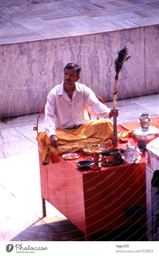 Red India Temple Varanasi