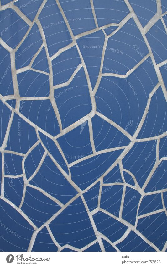 Blue Tile Craft (trade) Hannover Seam Mosaic Handcrafts World exposition