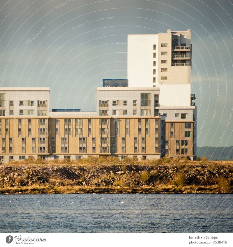 Ocean House (Residential Structure) Window Architecture Building Facade Living or residing High-rise Arrangement Simple Harbour Manmade structures Skyline Square Sharp-edged Port City