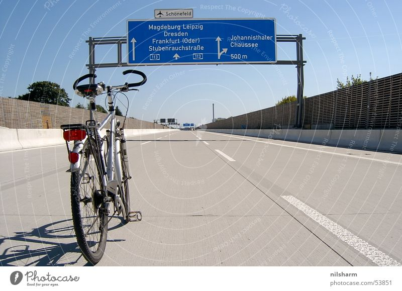 Berlin Bicycle Signs and labeling Transport Highway Traffic lane Lane markings