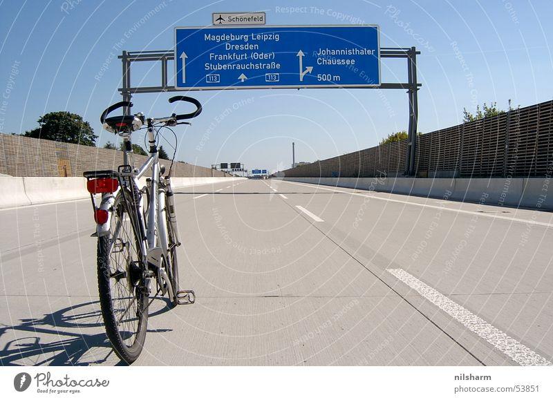 Berlin Bicycle Signs and labeling Transport Highway Traffic lane Lane markings