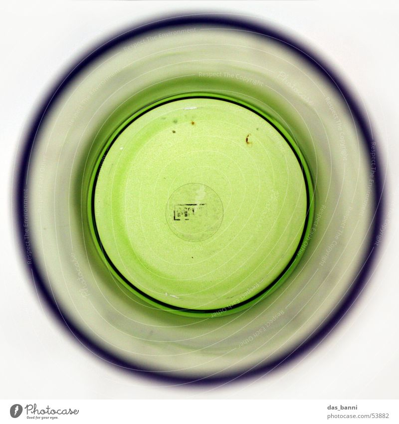 Water White Green Flower Bright Glass Design Lifestyle Circle Round Decoration Living or residing Exceptional Middle Things Square