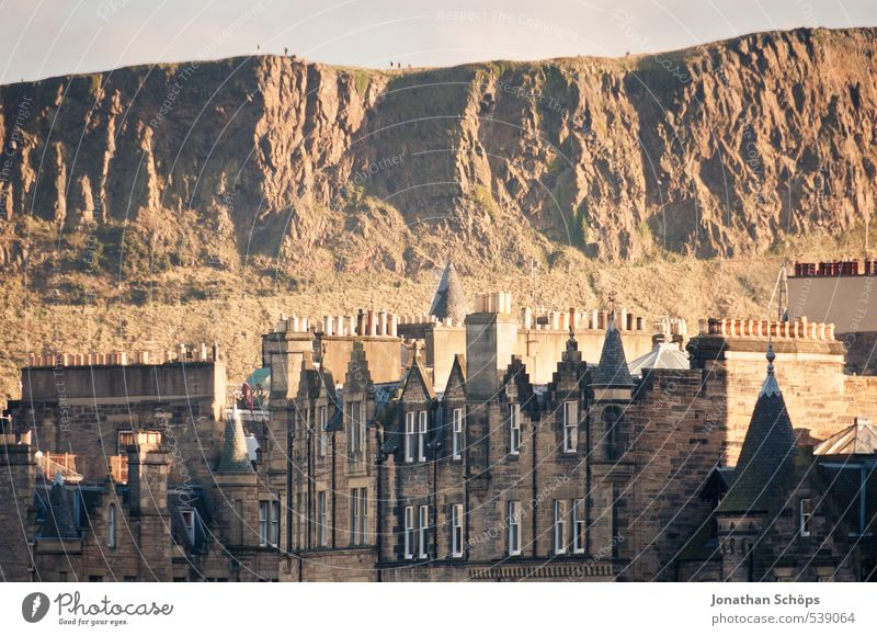 Edinburgh X Scotland Great Britain Town Capital city Old town Skyline Populated House (Residential Structure) Manmade structures Building Architecture Roof